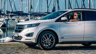 Ford Edge márkanagykövet Litkey Farkas
