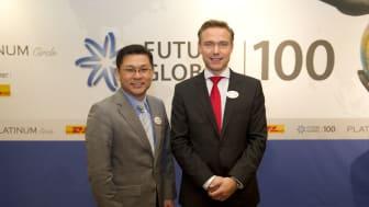 DHL skapar nätverk för näringslivet och politiker vid konferensen Future Global 100