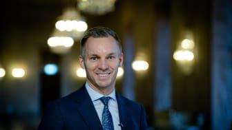 Äldreborgarråd Erik Slottner (KD). Foto: Yanan Li.