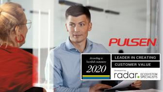 Pulsen är näst bäst i Sverige på verksamhetsnära IT.