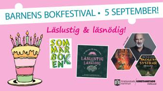 Barnens bokfestival är på gång!