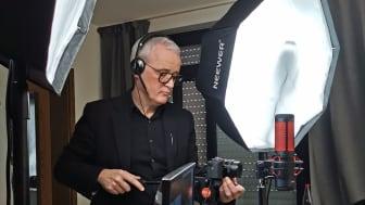Frank Brormann als Kameramann