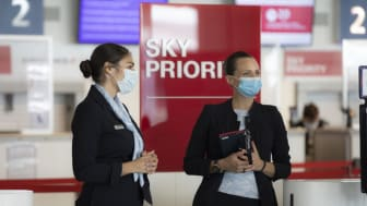 Surgical Mask at CDG Airport