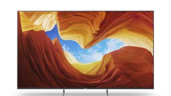 Novo televisor 4K HDR Full Array LED XH90 da Sony brevemente nas lojas