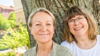 Elisabeth Carlund och Annika Ridington, grundare RideQ och initiativtagare till HorseTech of Sweden