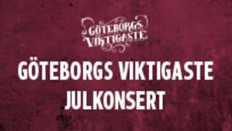 Göteborgs Viktigaste Julkonsert