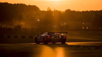 Ford GT 69 i solnedgangen
