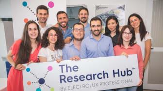Doktorander på The Reserach Hub by Electrolux Professional