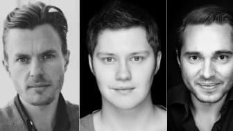 Jonas Eskil Brehmer, Martin Redhe Nord, Tobias Ahlsell och Joa Helgesson.