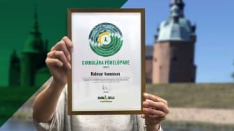 Ragn-Sells har utsett Kalmar kommun till cirkulära förelöpare