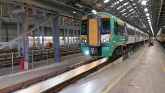 First of 270 trains in £55m modernisation programme is back in service