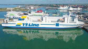Stark start på 2021 för Trelleborgs Hamn