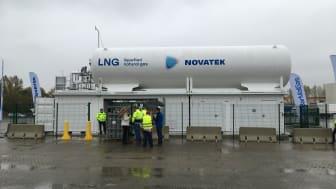 Neue LNG-Tankstelle in Rostock