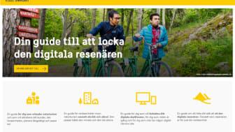 Visit Sweden har lanserat en steg för steg-guide om hur turistföretagare kan göra sina upplevelser mer synliga i rätt digitala resetjänster. Foto: Simon Paulin
