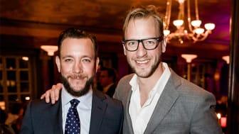 Jens och John Patrick Berlips, grundare av ApoEx. Fotograf: David Thunander (bilden är beskuren)