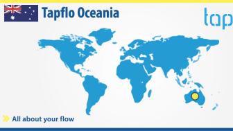 Tapflo Group officially announces the establishment of Tapflo Oceania!