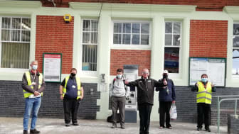 Southern has completed pilot sessions at Hove and Arundel stations to re-familiarise passengers with train travel. More images below.