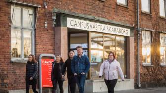 Inbjudan till presskonferens - nya utbildningar på Campus Västra Skaraborg