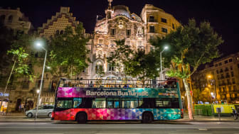 Barcelona Night Tour Bus