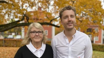 Jeanette Hjortsberg, divisionschef Psykiatri Regiond Dalarna, och Per Segerros, HR-partner senior, Region Dalarna.