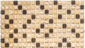 Mosaik Eventyr Den Lykkelige familie Sand 30x30, 1.248 kr. M2.