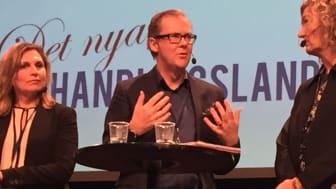 Stefan Calrell, Martin & Servera i panel under Upphandlingsdagarna förra året