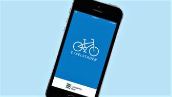 Nu finns appen Cykelstaden i ny version i Göteborg