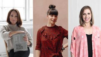 Frida Ramstedt, Isabelle McAllister och Maria Soxbo medverkar på Formex Talks.