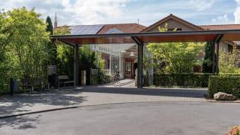 In der Hephata-Klinik in Schwalmstadt gilt aufgrund der steigenden Fallzahlen in der Corona-Pandemie ab Samstag, 17. Oktober, wieder ein Besuchsverbot.