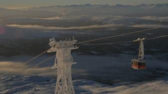 Åre, som nästa vinter står värd för världens nästa stora vintersportevenemang efter OS, alpina VM 2019, lockar allt fler gäster till sina evenemang. Foto: SkiStar