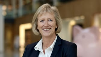 SETTER NED FASTRENTEN IGJEN: Konserndirektør for personmarked i Storebrand, Heidi Skaaret.