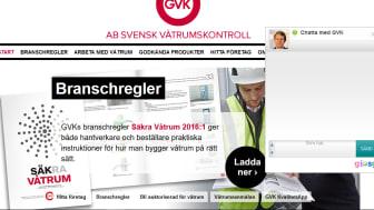 GVK ger teknisk support via chatt, mail eller telefon