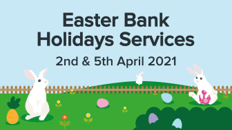 Easter Bank Holiday Services