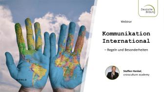 Webinar: Kommunikation International – Regeln und Besonderheiten