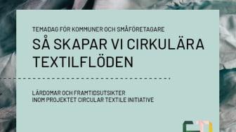 Circular Textile Initiative drivs av Göteborgsregionen, Re:textile, Wargön Innovation och Swedish Fashion Council. Ett unikt samarbete, i ett unikt projekt.