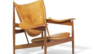 """Finn Juhl: """"Chieftain Chair"""" (1949-50). Sold for: DKK 1.1 million / € 150,000 (including buyer's premium)"""