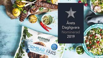 Anamma Formbar Färs nominerad till Årets Dagligvara 2019