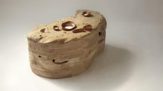 Fossil no 1 coffee table, designer Anna Bera, photo Emilia Oksentowicz