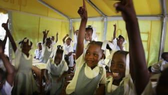 Rapport från Haiti: viktiga mål har uppnåtts