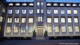 Eliel Saarisen suunnittelema, aiemmin vain toimistokäytössä ollut arvorakennus avautuu kaikkien ulottuville Scandic Grand Central Helsinki -hotellina.