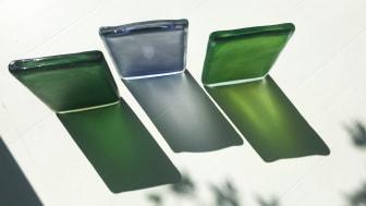 De tre nya konstverken är skapade med inspiration från våren och sommaren i Stockholm.