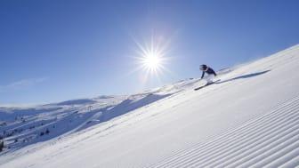 I tillegg til skikjøring på Norges største skisted kan man gjøre mange andre vinteraktiviteter. Foto: Ola Matsson/Skistar Trysil