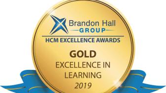 Brand Hall Group Gold Award
