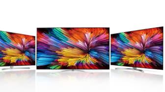 LG introduserer TV med Active HDR, Nano Cell-teknologi og Super UHD