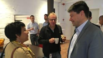 Siam Valizadeh, Atlas Copco och Lars Pejryd, Örebro universitet