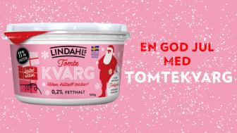 Nu kommer en proteinrik tomtekvarg med smak av jordgubb och vanilj - en välbekant julsmak för de flesta godisälskare.