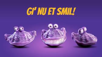 The Oister - Gi' nu et smil!