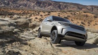 Goodyear förser Jaguar Land Rover med originalutrustning för nya Jaguar F-Pace, Land Rover Discovery och Range Rover Velar