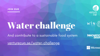 Innovation challenge in Skåne is looking for climate-smart water solutions