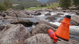 Har endret vannføring konsekvenser for dyr og alger på elvebunnen? Forskergruppen utførte undersøkelser i totalt 64 vassdrag. Her fra  Maudalsåna. (Foto: Susanne Schneider, NIVA)